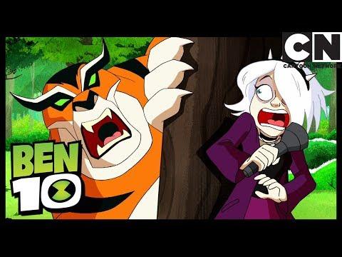 Charmcaster se transforma en Gwen | Encantadas | Ben 10 en Español Latino | Cartoon Network