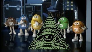 M&M'S PUSHING ANOTHER ILLUMINATI AGENDA....