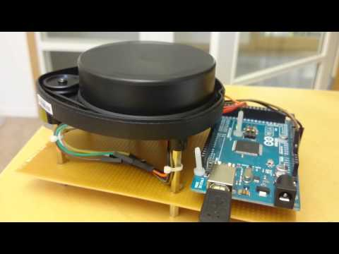 XV-11 Neato Lidar with Arduino