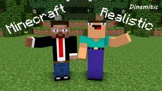 Minecraft vs Realistic - Minecraft Animation (Noob Life Series)