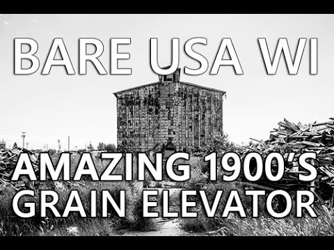 BARE USA Urban Exploration in Superior WI | Abandoned Globe Grain Elevator Superior Wisconsin