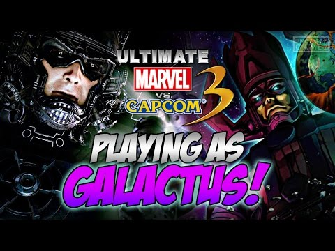 Ultimate Marvel vs. Capcom 3 - PLAYING AS GALACTUS!!! (PS4)