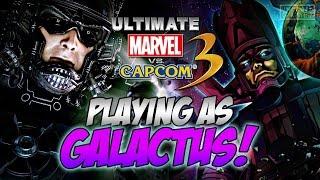 Ultimate Marvel vs. Capcom 3 - PLAYING AS GALACTUS!!! (PS4)