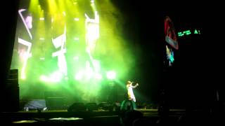 B.o.B Airplanes Live in Malaysia Watsons Music Festival 2012