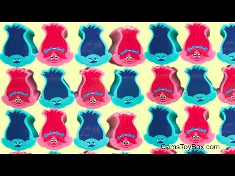 Poppy Branch Heads Trolls Series 6 Blinds Bags Surprises Opening Toys 5 1 Dreamworks Fun Kids