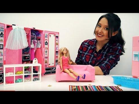 Мультфильм куклы видео куклы барби только где маша помогает маша классная