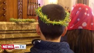 Հայ եկեղեցին այսօր նշում է Ծաղկազարդի տոնը