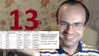 ПРАКТИЧЕСКИЙ КУРС ЧТЕНИЯ И ПРОИЗНОШЕНИЯ  УРОК 13 Английский язык  Уроки английского языка