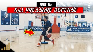How to: 5 DEADLY Basketball Moves Defenders HATE! How To BEAT Pressure Defense
