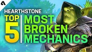 Top 5 Most Broken Hearthstone Mechanics