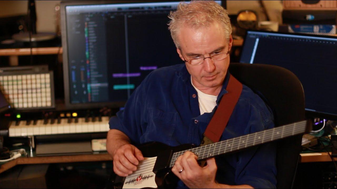 Michael Brook on the You Rock MIDI Guitar Controller