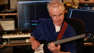 Michael Brook on the You Rock MIDI Guitar Controller