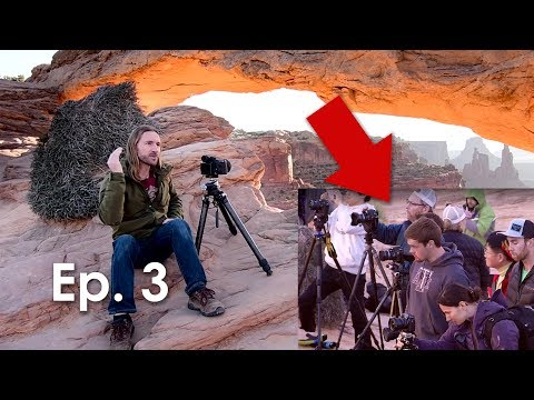 How we BEAT PHOTOGRAPHERS to MESA ARCH