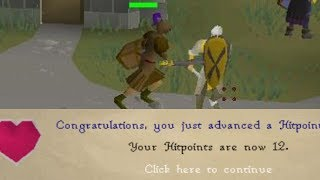 I got 12 Hitpoints on RUNESCAPE! And then this happened...