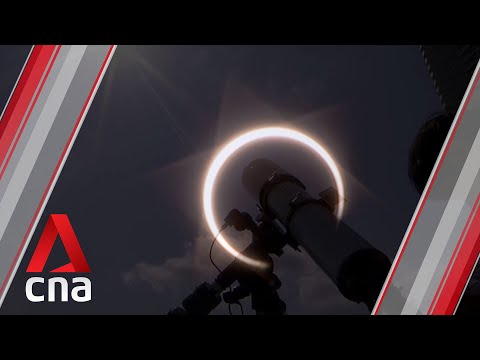 'Ring Of Fire' Solar Eclipse In Singapore, Boxing Day 2019