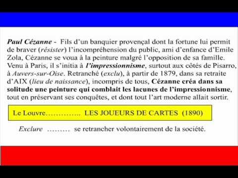 PAUL CEZANNE (1839-1906) L'impressionisme / France