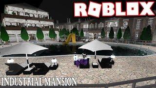 $2.5 MILLION QUÉBEC INDUSTRIAL MANSION!!! | Subscriber Tours (Roblox Bloxburg)