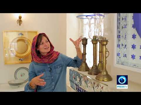 Press TV - Report about Lena Späth & book 'Behind Closed Curtains: Interior Design in Iran'