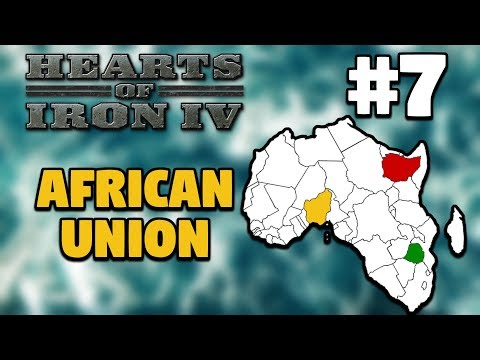 Hearts of Iron IV: Millennium Dawn | African Union Multiplayer | Nigeria #7