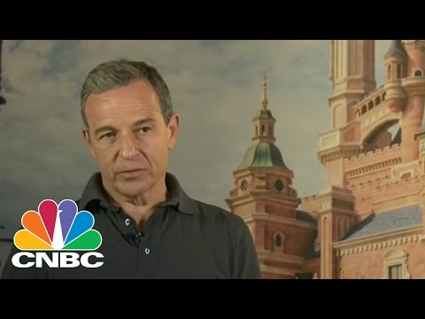 Disney CEO On China Expansion | Squawk Box | CNBC