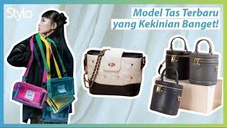 Model Tas Wanita Terbaru yang Jadi Tren Fashion Indonesia 2021 (Totebag, Selempang, Ransel) Stylo.ID