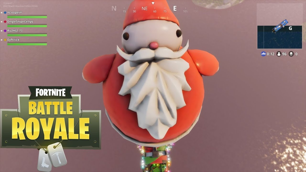 Image result for santa claus in fortnite