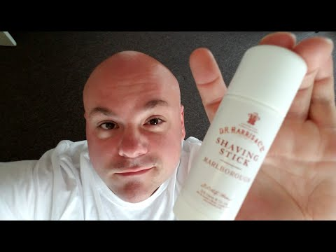 D.R. Harris Marlborough shaving stick review