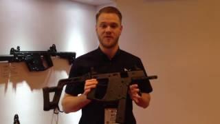 Shot Show 2017 - KRISS Vector AEG