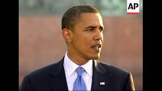WRAP Barack Obama speech on foreign affairs