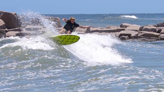 My First Time Surfing The Texas Gulf Coast!