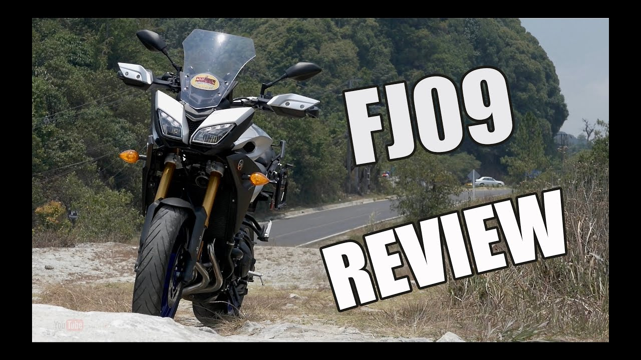 2016 yamaha fj 09 review youtube