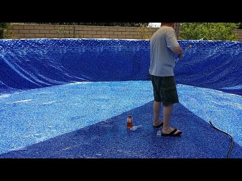 New Liner For Intex 24 Foot Round Metal Frame Pool Youtube