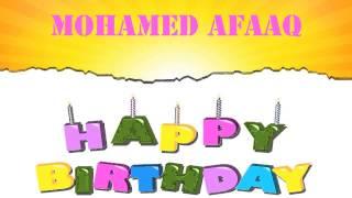 MohamedAfaaq   Wishes & Mensajes - Happy Birthday
