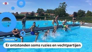 Camera's en beveiligers bij zwembaden na overlast
