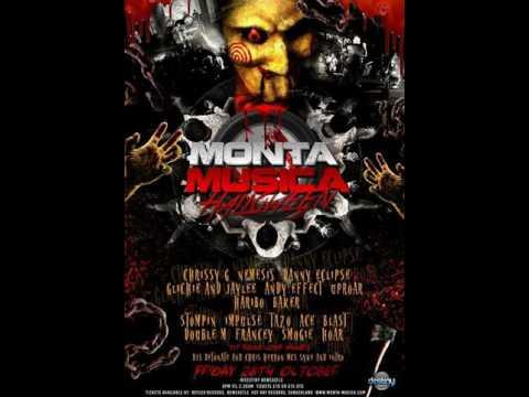 Danny Eclipse Mc Impulse @ Monta Musica Halloween Special 28.10.2016