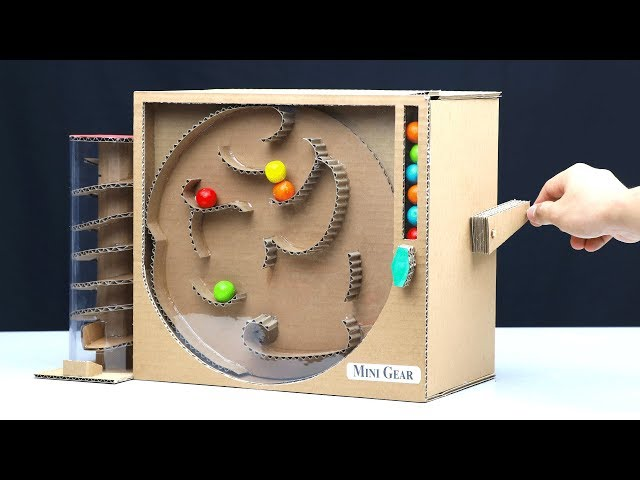 Wow! DIY Amazing Gumball Game without DC Motor