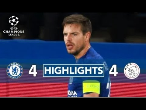 Chelsea Vs Ajax – Match Highlights – Uefa Champions League 1080p English Commentry