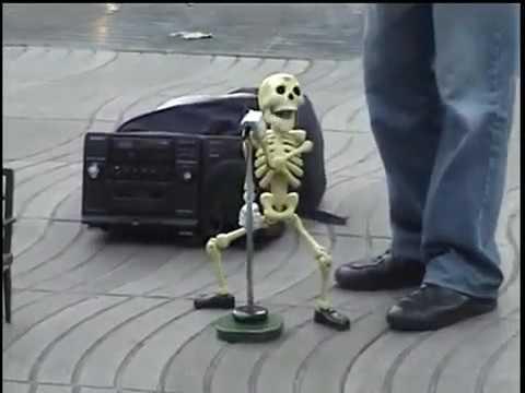 Поющий Скелет