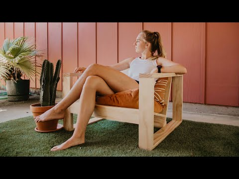 DIY Outdoor Chair | Woodbrew