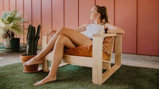 DIY Outdoor Chair   Woodbrew