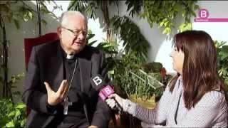 El Bisbe de Mallorca M. Xavier Salinas a La Mirada, de Ib3 televisió.