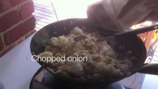 Malaysian Master Chef.  Delicious Fried Rice. Chinese Recipe By Victor.