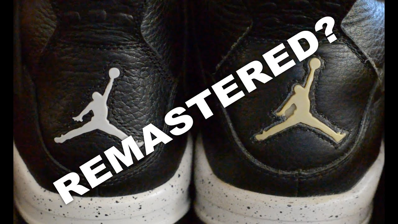 21370b8d9ab0 Air Jordan IV (4) Oreo 1999 2015 Comparison - YouTube
