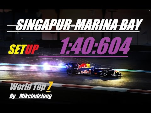 SINGAPORE SETUP F1 2014 1:40:604 world top 7