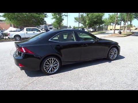2015 Lexus IS 250 Duluth, Johns Creek, Buford, Suwannee, Lawrenceville, GA U42430