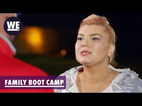 Amber Threatens Matt Sneak Peek  Marriage Boot Camp: Family Edition  WE tv
