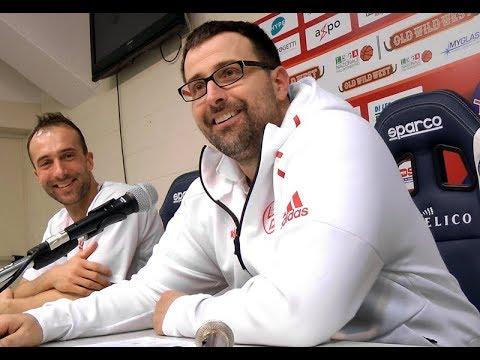 Conferenza stampa Biella-Legnano del 04/02/2018