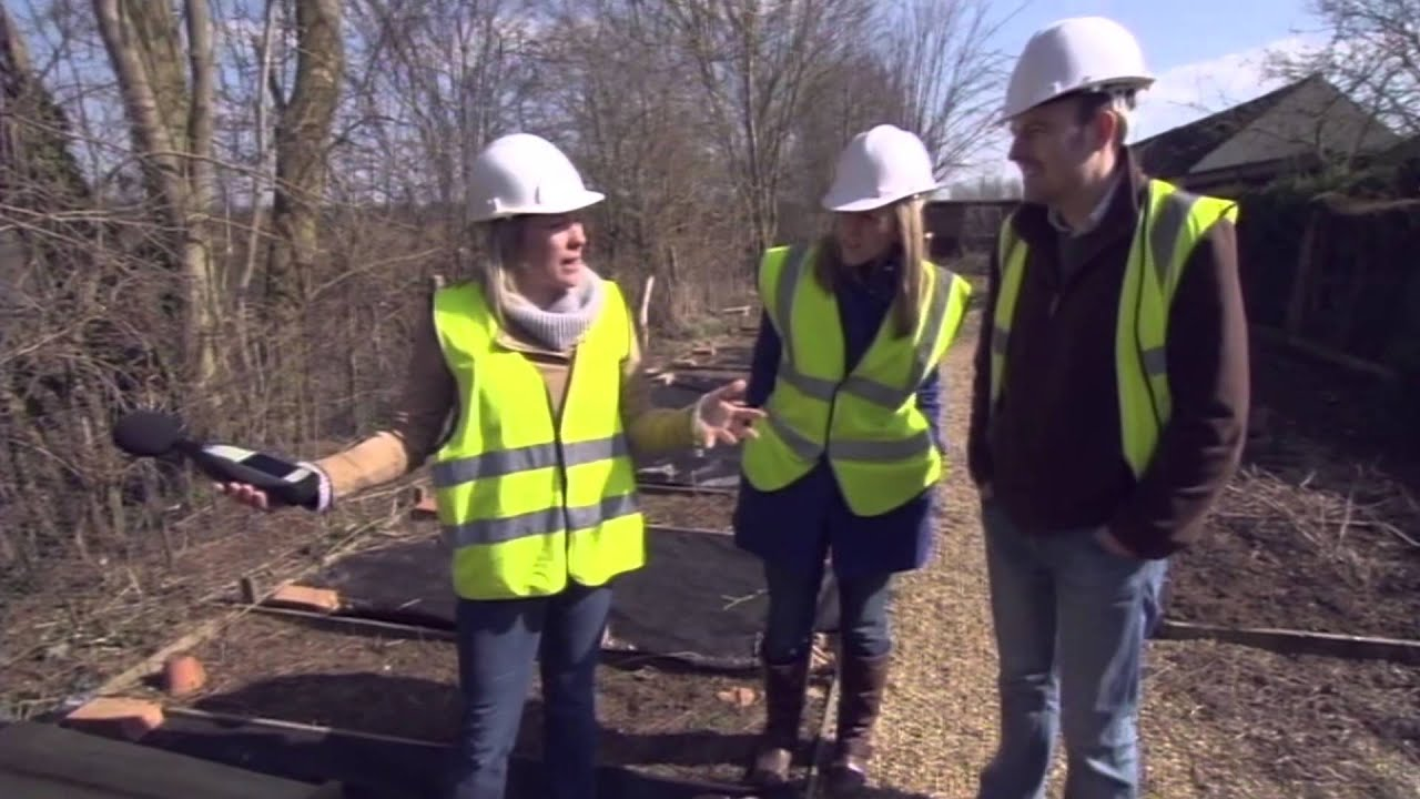 JCW Soundproofing Acoustic Fencing & Sarah Beeny