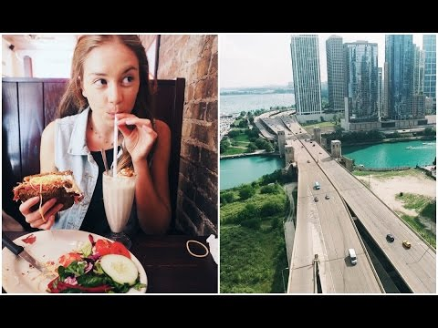 WHAT I ATE IN CHICAGO // ROAD TRIP ACROSS AMERICA