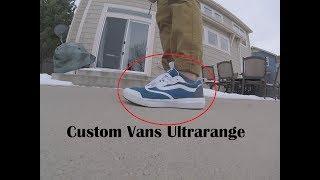 How To: Custom Vans Ultrarange - YouTube